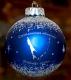 Шар стеклянный новогодний  Сахалинская область