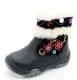 Ботинки для девочки Зебра 4295/1 зимние