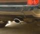 Насадка глушителя автомобиля  Toyota Land Cruiser Prado 120/150 овал