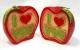 Свеча ароматическая  Яблоко любви, 2 шт (половинки)