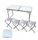 Стол+4 стула прямоугольный 1,2*0,6 м/желтая короб/