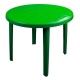 Стол круглый 900*900*750 (зеленый)