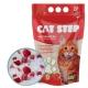 Наполнитель для кошачьих туалетов Cat Step Силикагель, с ароматом клубники 3,8 л