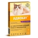 АДВОКАТ 100 капли против блох для кошек 4-8 кг